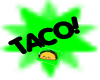 {FF} Taco Thought bubble