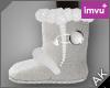 ~AK~ Winter Boots: White