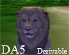 (A) Running Lion