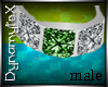-DA- Male Emerald Ring