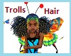Kid Butterfly Troll Hair
