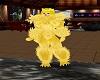 Wolf Chest Fur Lemon