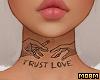 Trust Love Tattoo