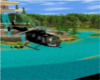 Moving helicopter