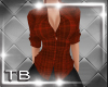 [TB] Gina Plaid Red