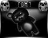 [DM] Black PVC Bear