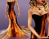 *Sexy Gown Fire Tail