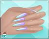 A| Long Fantasea Nails