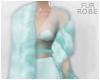 [Lona Robe-Blue Fur