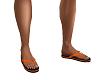 Flip Flops Men's Orange