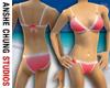 Red Lace Bikini