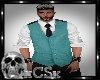 CS Mens Vest Teal