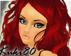 K red hair francine