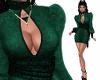 Linnett Velvet Green