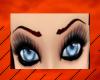 Blood Rain Eyebrows