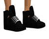 }CB{ Black Plaid Kicks