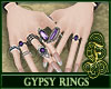 Gypsy Rings Purple