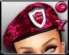 *D* Pink Armor beret