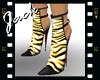 *Zebra Boot* Yellow