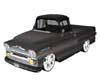 1958 Black Chevy Apache