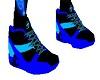 -x- blue kicks