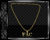 FAC Necklace Gold