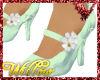 WF>Flower mint heel