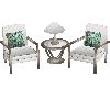 Fresh Beach Chat Chairs