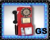 """GS"" VINTAGE PAY PHONE"