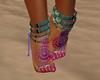 American native feet