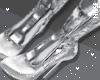 n| SA - Puff Boots Silve