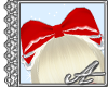 Headdress Bow~ Red