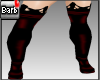 Barb Mistress Boot~red
