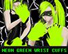[DZ] Green Wrist Cuffs