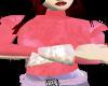 Pink Flair Top