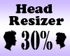 Head Resizer 30%