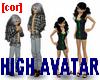 [cor] High avatar unisex