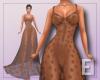 Bronze Star Sheer Dress