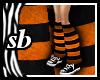 SB Warmers Orange+Black