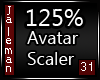 125% [M] Avatar Scaler