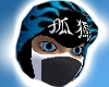 Blue Flamed Ninja Mask!