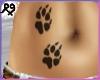 PawPrint Tattoo Female