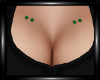 Emerald Chest Piercings