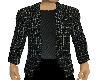 Black Check Casual Suit