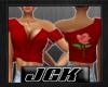 [JGK] Hot Shirt Rose Red