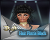 hair falvia black
