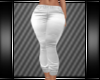 [L] WHITE CASUAL JEANS