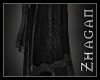 [Z] Arcanus scarf black