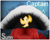 S: Macaw | Captain hat