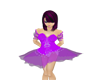 Purple Kwazii Dress